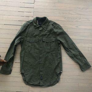 Rag and Bone Mens  army shirt